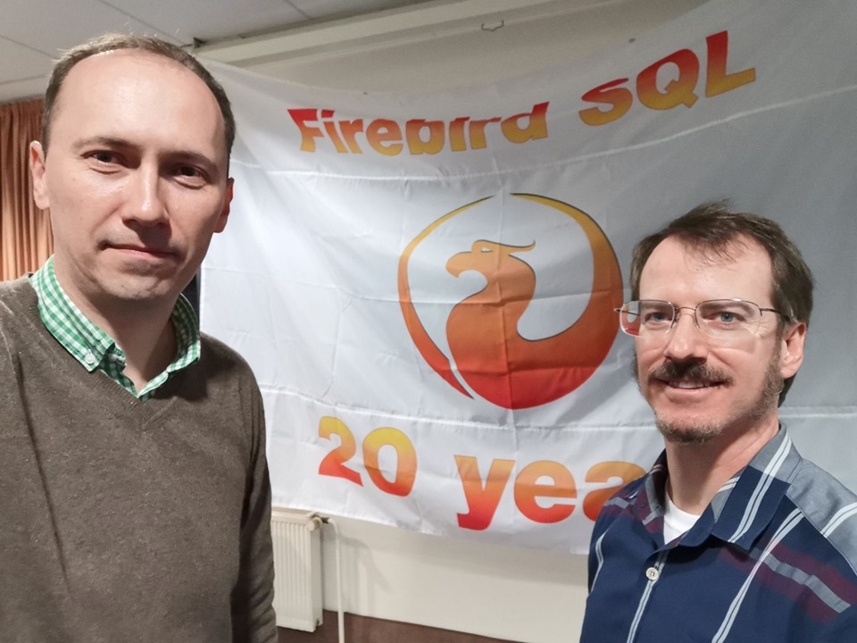 Firebird Conference 2019 (Alexey and Jason Wharton)
